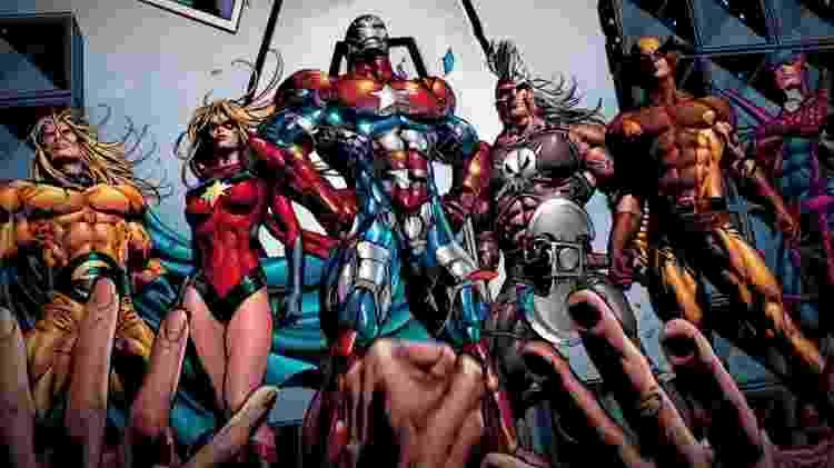 Os Dark Avengers - Reprodução - Reprodução