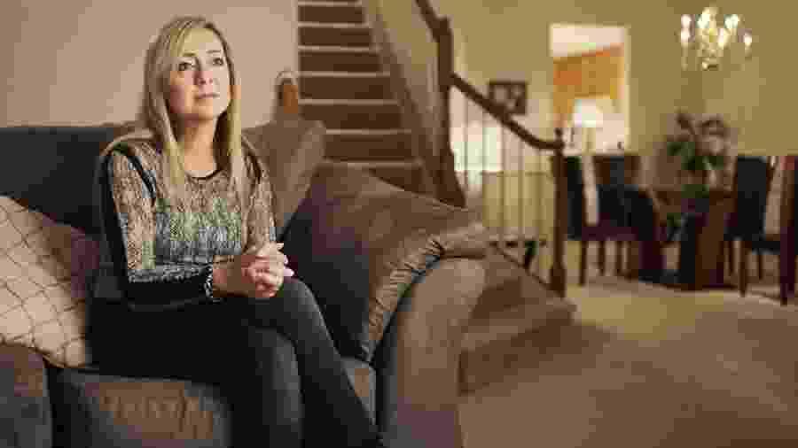 Lorena Gallo Bobbit em cena do documentário da Amazon - Reprodução