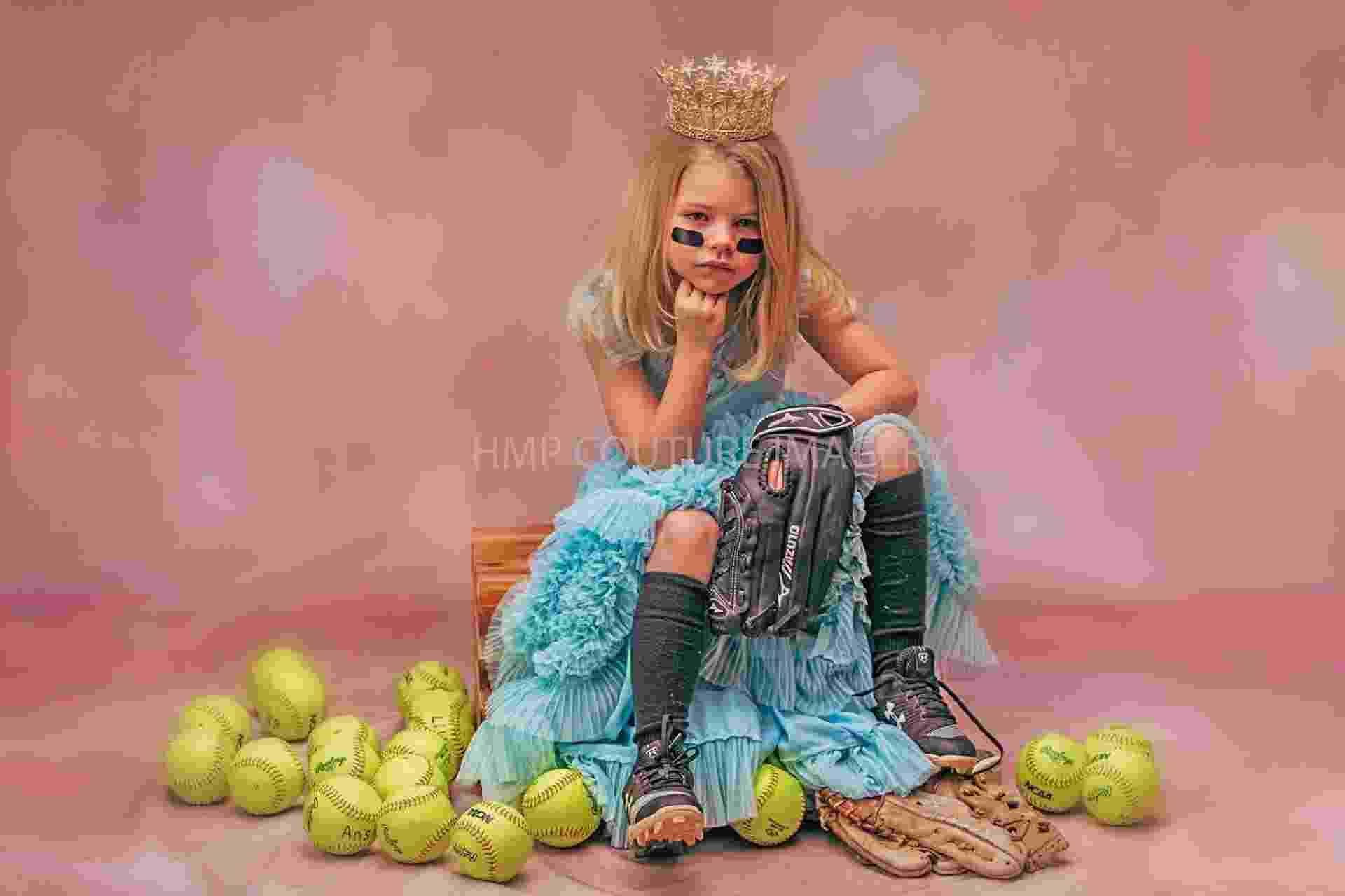 "Fotos de ""princesas duronas"" como guerreiras do esporte - HMP Couture Imagery"