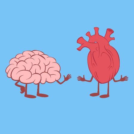 O cérebro tem um papel importante na paixão - iStock