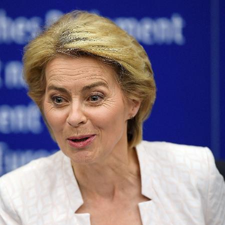16.jul.2019 - A nova presidente da Comissão Europeia, a alemã Ursula von der Leyen, propôs um Acordo Verde Europeu - Frederick Florin/AFP