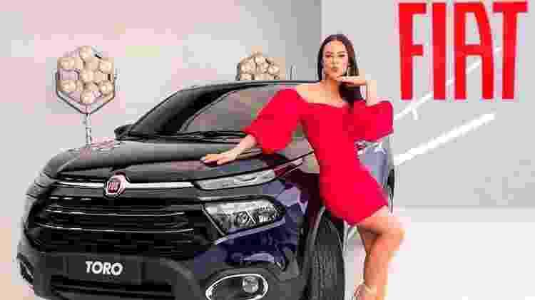 Vivi Guedes: personagem de Paolla Oliveira é nova garota propaganda da Fiat - Divulgação