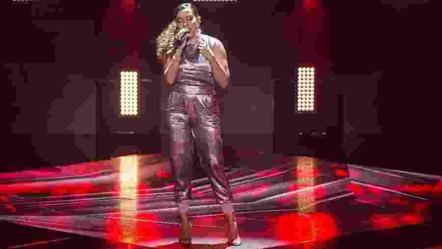 Anitta no The Voice Brasil - TV Globo/Divulgação