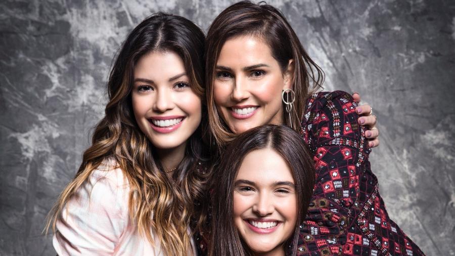 """Vitória Strada, Deborah Secco e Juliana Paiva são as protagonistas de """"Salve-se Quem Puder"""" - Divulgação/TV Globo"""