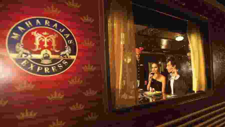 Maharajas Express: requinte cinco estrelas em famoso trem de luxo na Índia - Divulgação