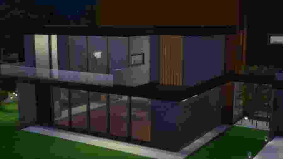 """Casa de """"Parasita"""" em The Sims 4 - Reprodução / Youtube"""
