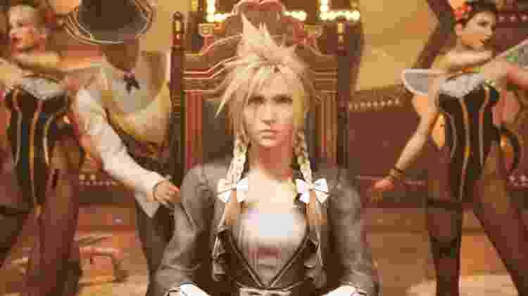 Final Fantasy VII Cloud vestido - Divulgação/Square Enix - Divulgação/Square Enix