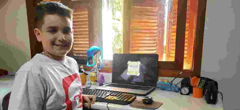 Victor Gabriel Agostini é estudante da cidade de Canoas, região metropolitana de Porto Alegre - André Padilha