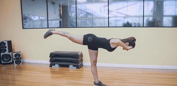 Treino em Casa #34: tri-sets para fortalecer pernas e detonar calorias – UOL
