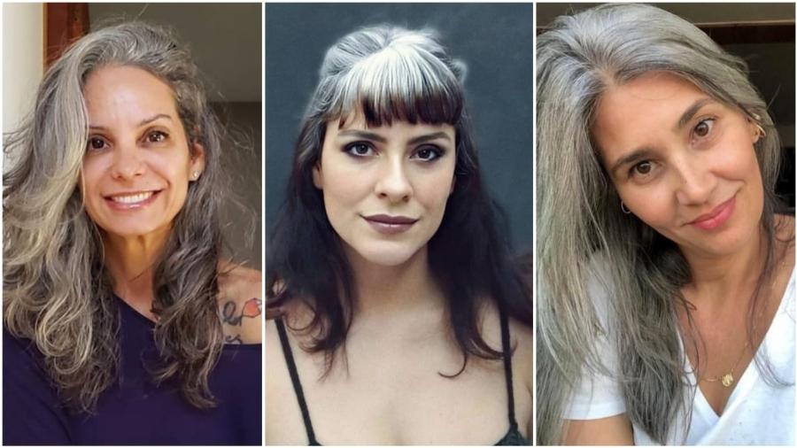 Kika Ribeiro, Ana Fonte e Patricia Reis usam as redes sociais para falar sobre os fios grisalhos - Reprodução / Instagram