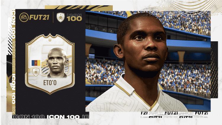 FIFA21 FUT Samuel Etoo - Divulgação/EA - Divulgação/EA