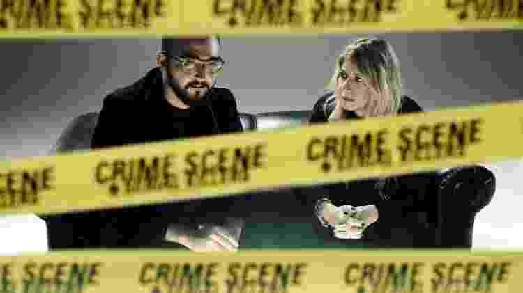 Raphael Montes e Ilana Casoy são os autores de 'Bom Dia, Verônica' - divulgação/Netflix - divulgação/Netflix