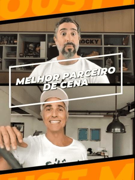 Reynaldo Gianecchini foi entrevistado por Marcos Mion - Reprodução