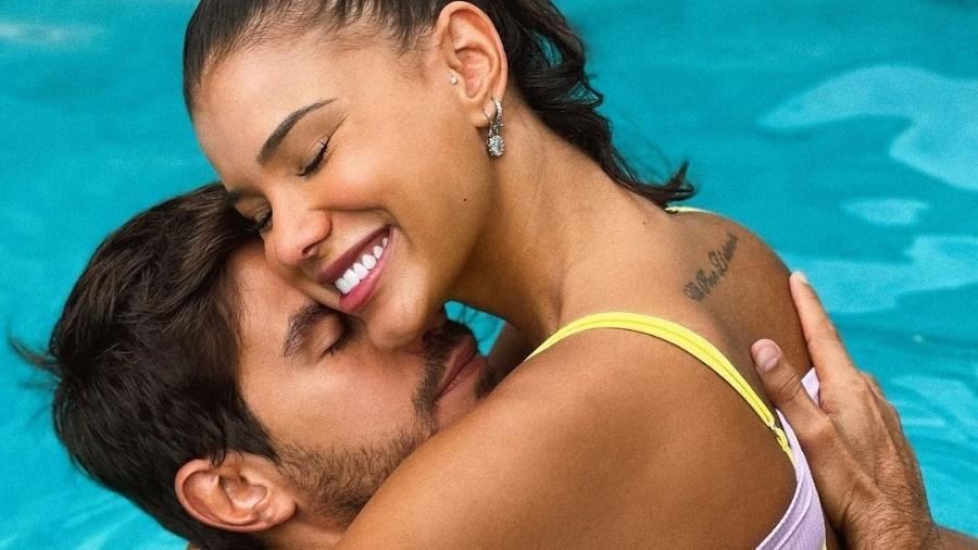 Jakelyne Oliveira e o namorado, Mariano - Reprodução/Instagram @jaakelyne