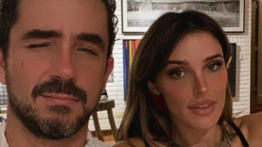 Felipe Andreoli e Rafa Brites - Reprodução/Instagram @rafabrites
