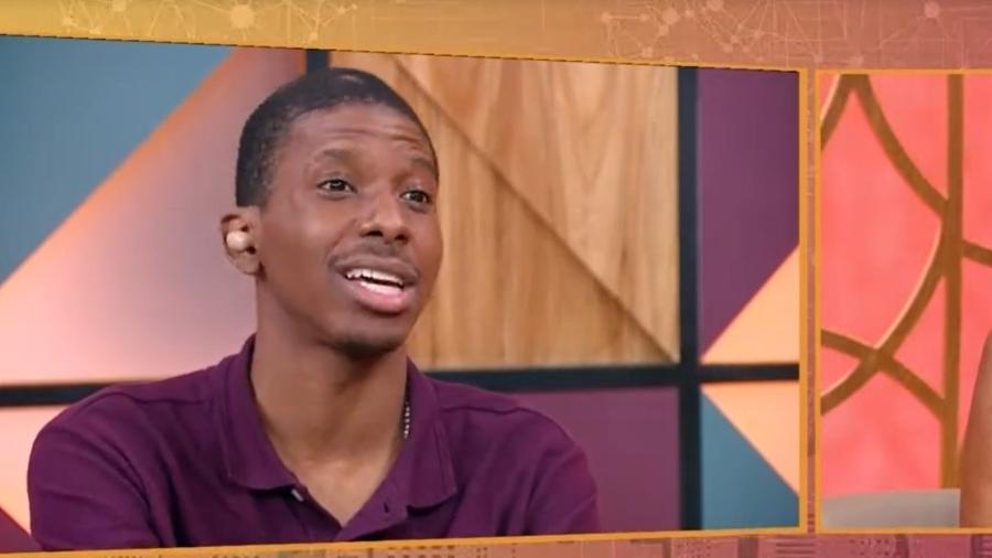 Lucas contou que faltou ajuda de alguém igual ao se referir à Lumena - Reprodução/TV Globo