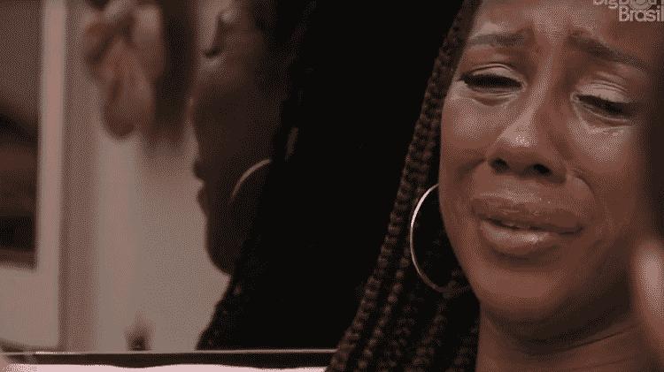 BBB 21: Camilla cai no choro ao falar de Karol  - Reprodução/Globoplay - Reprodução/Globoplay