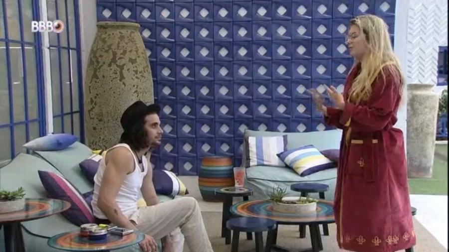BBB 21: Viih Tube revela que vai indicar Fiuk ao paredão - Reprodução/Globoplay