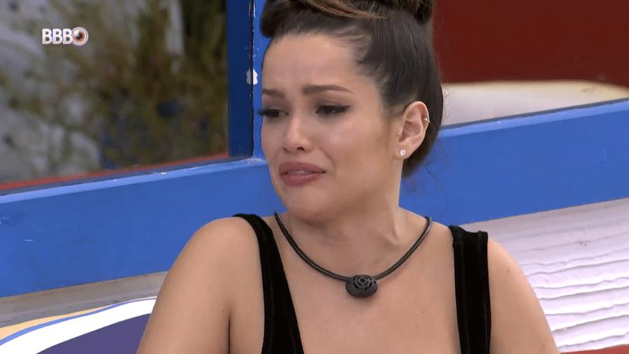 BBB 21: Juliette chora em conversa com Gilberto - Reprodução/Globoplay
