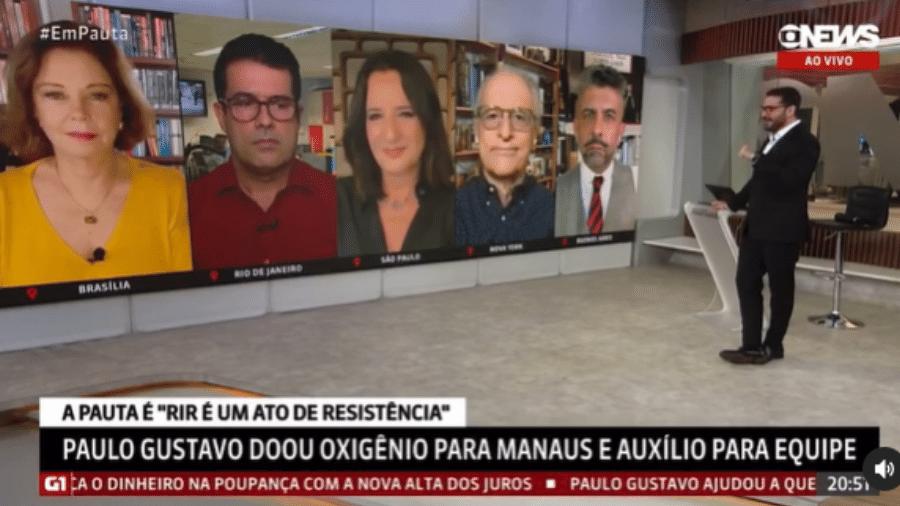 Marcelo Cosme faz homenagem a Paulo Gustavo - Reprodução/Instagram