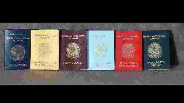 Passaportes brasileiros - Reprodução/EBC - Reprodução/EBC