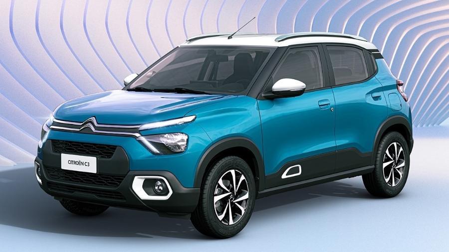SUV ou hatch? Este é o novo Citroën C3, que será lançado em 2022 no Brasil com produção em Porto Real (RJ) - Divulgação
