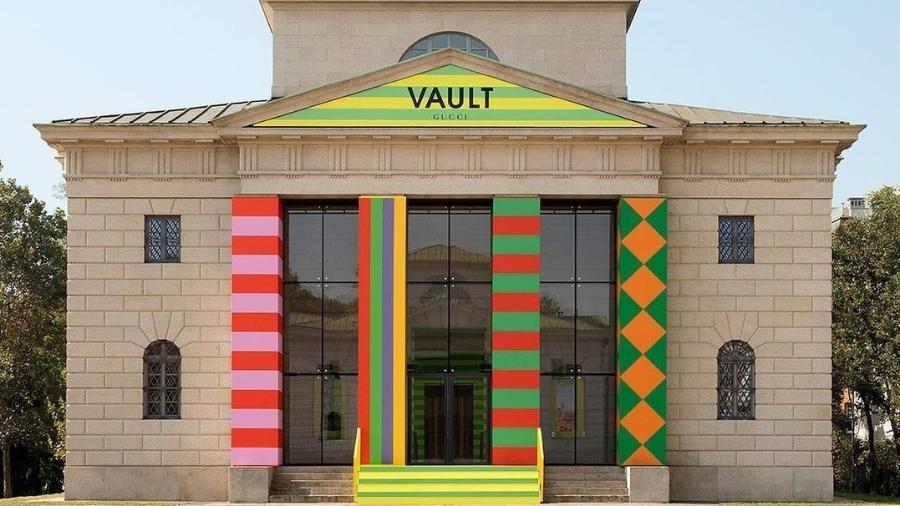 O projeto Vault, o novo e-commerce da Gucci com curadoria de Alessandro Michele, abriu suas portas virtuais para o público na Semana de Moda de Milão - Reprodução/Instagram