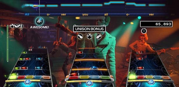 """Sucesso nos anos 2000, games musicais como """"Rock Band 4"""" parecem não empolgar mais os jogadores; futuro da franquia e também de """"Guitar Hero"""" não parece nada promissor - Divulgação"""