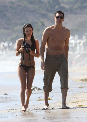 Cathriona White com o ator Jim Carrey - The Grosby Group
