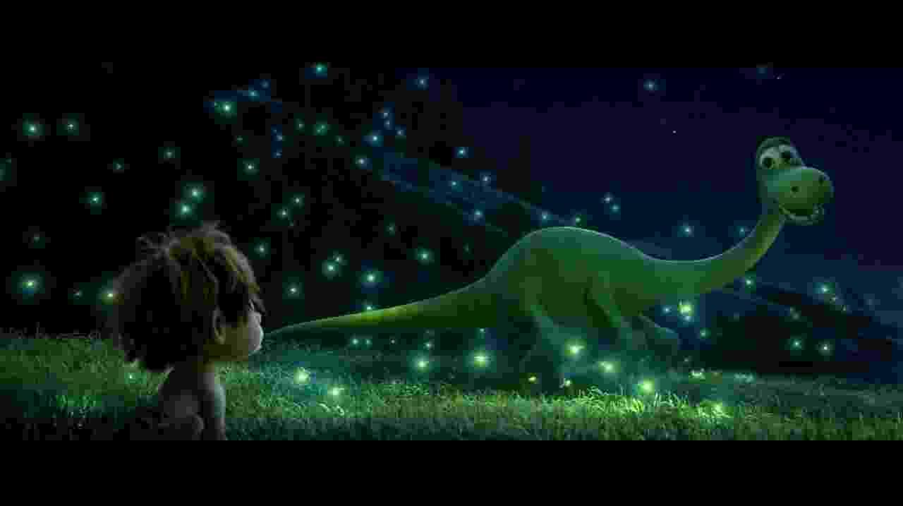 """Cena da animação """"O Bom Dinossauro"""" (2016) - Divulgação"""