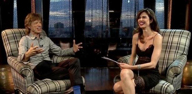 Entrevista teve um tom descontraído e familiar - Divulgação/RedeTV!