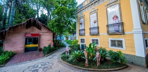 Fachada do Museu do Índio, em Botafogo - Paulo Mumia/Divulgação