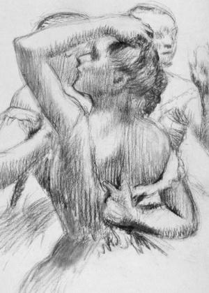 """Trois Danseuses en Buste"", de Degas - RMN-Grand Palais/EPA"