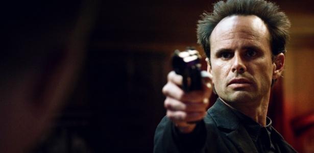 """Walton Goggins como o criminoso Boyd Crowder, no seriado """"Justified"""" - Reprodução/FX"""