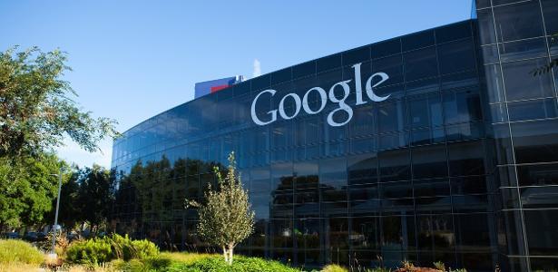 A sede do Google em Mountain View, na Califórnia