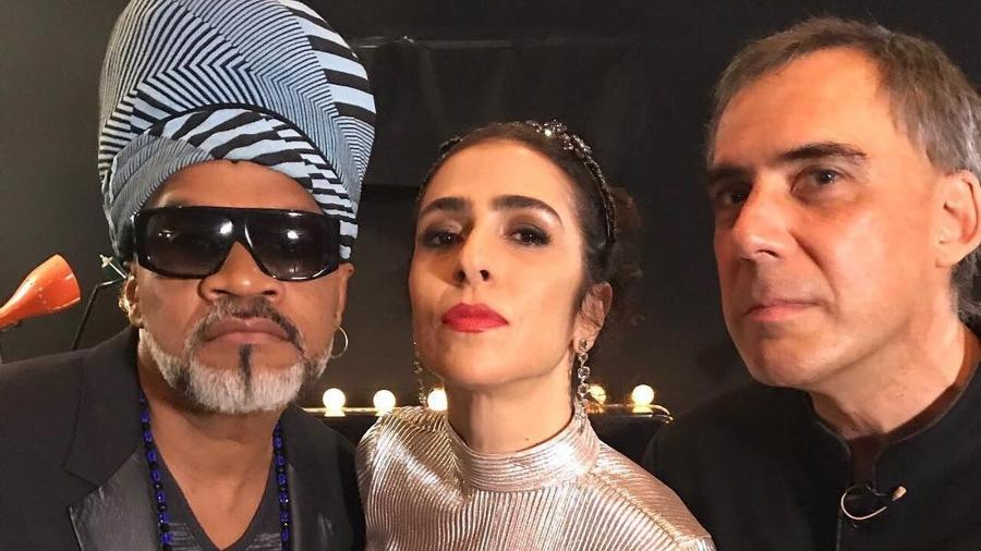 Carlinhos Brown, Marisa Monte e Arnaldo Antunes anunciam novo disco dos Tribalistas - Divulgação/Instagram