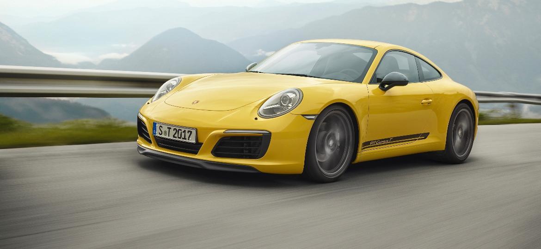 Porsche 911 Carrera T: esportividade bruta com câmbio manual - Divulgação