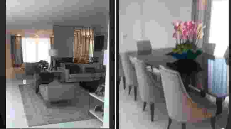 Decoração da mansão em que Graciele Lacerda mora com Zezé Di Camargo - Reprodução/Instagram - Reprodução/Instagram