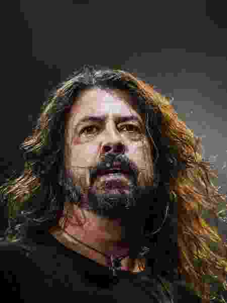 O vocalista Dave Grohl, líder do Foo Fighters - Lucas Lima/UOL