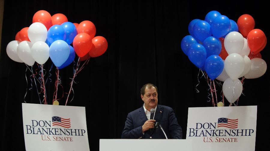 Don Blankenship entra na política depois de ser condenado pela morte de 29 trabalhadores de sua empresa - Getty Images