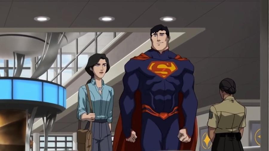 """Cena de """"A Morte de Super-Homem"""" - Reprodução"""