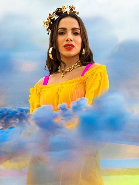"""Anitta em foto de divulgação de seu novo single, """"Medicina"""" - Divulgação"""