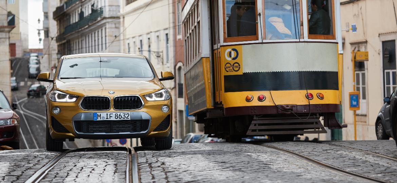 BMW X2 europeu tem cara menos invocada, mas maior quantidade de equipamentos de condução semi-autônoma - Divulgação