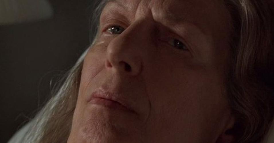 "Nancy Marchand em cena em ""Família Soprano"""
