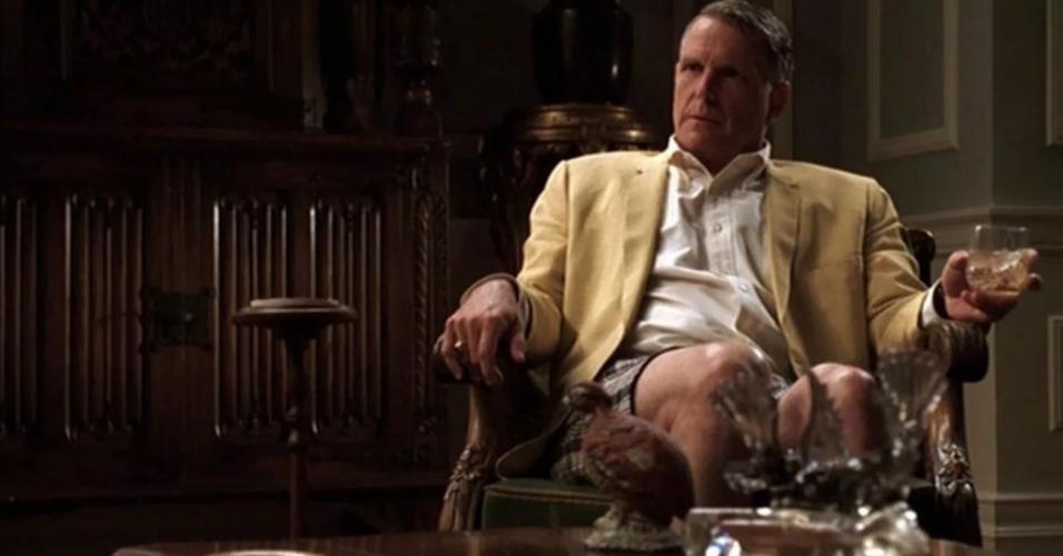 """Christopher Allport em cena em """"Mad Men: Inventando A Verdade"""""""