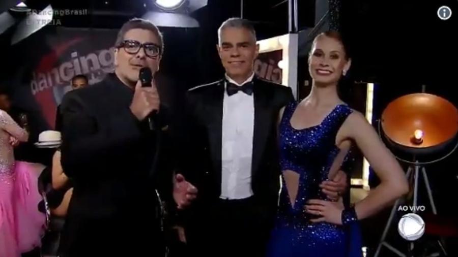 """Junno Andrade estreia em """"Dancing Brasil"""" - Reprodução/TV Record"""