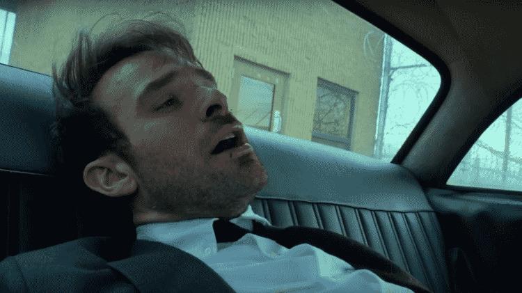 Demolidor cena no táxi - Reprodução - Reprodução