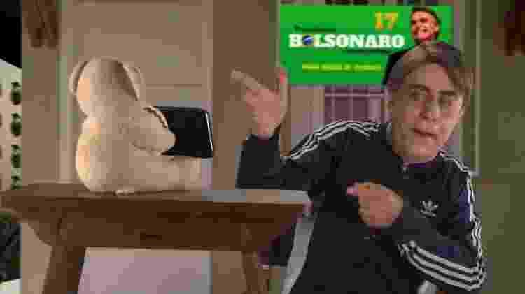 Tom Cavalcante imita Jair Bolsonaro em seu canal no YouTube - Reprodução/YouTube - Reprodução/YouTube