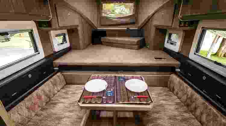 Sala de estar com cozinha: tudo em um ambiente só - Divulgação