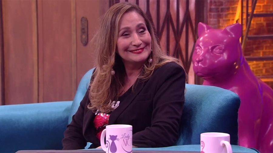 """Sônia Abrão no """"Lady Night"""" - Reprodução/Multishow"""